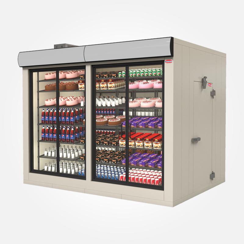 Bharat refrigeration for 1 door display chiller